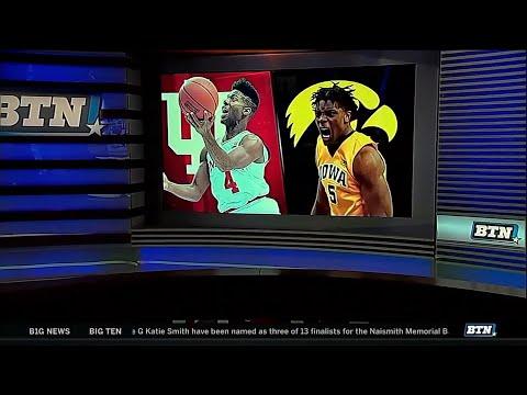 Indiana at Iowa - Men's Basketball Highlights