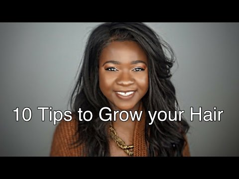 10 Daily Tips to Grow Long Healthy Relaxed Hair
