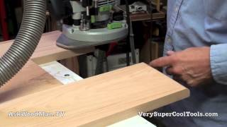 21 How To Build A Bed • Rounding End Rails With The Router
