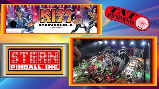 #1114 Stern KISS Pro Pinball Machine-plus CRYSTAL CASTLES-DEFENDER - TNT Amusements
