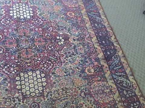 Old Persian Rug for Cleaning in Victoria BC