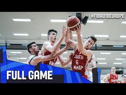 Bulgaria v Croatia - Full Game - FIBA U18 European Championship 2017 - DIV B