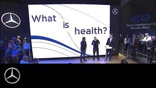 #CES2017 LIVE  Inspiration Talk  Connectivity   Focus on Health    Ola Källenius & David Agus