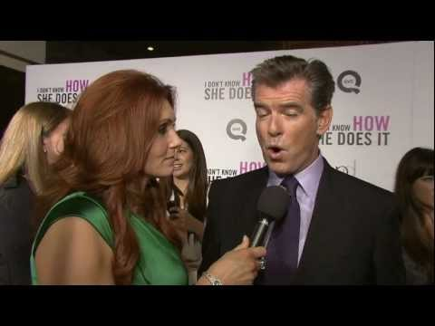 Pierce Brosnan:  I Don't Know How She Does It
