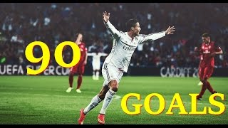 Cristiano Ronaldo ►Goals in Every Minute | 1-90 HD