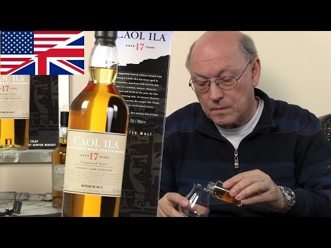 Whisky Review/Tasting: Caol Ila unpeated 17 years