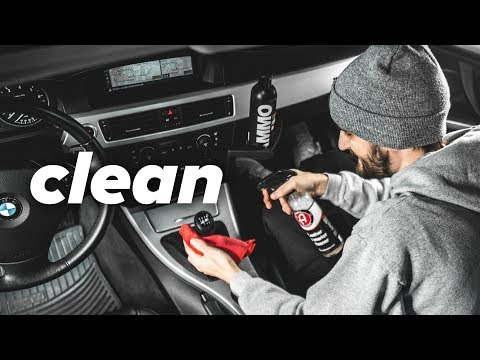 How I Clean My Car Interior | POST WINTER