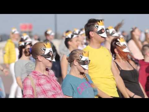 Видео: Флешмоб 300 танцевальных движений