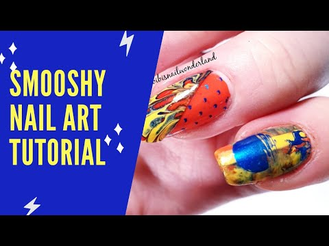 Smooshy nail art tutorial thumbnail