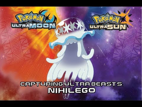 Catching Nihilego - Ultra Deep Sea in Pokemon Ultra Sun and Ultra Moon