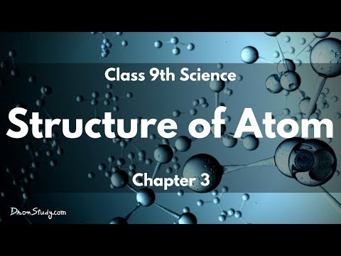 Structure of Atom : CBSE Class 9 IX Science