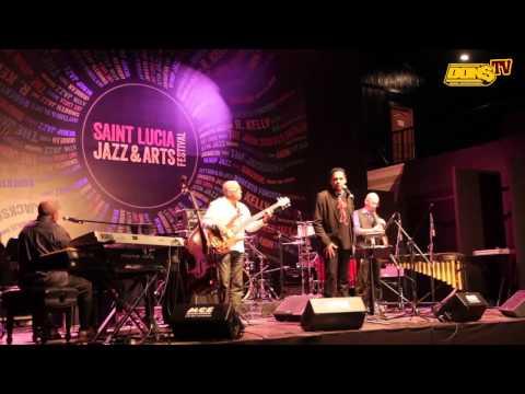 Fal Frett au Festival de Jazz de Sainte-Lucie Saint Lucia Jazz Festival