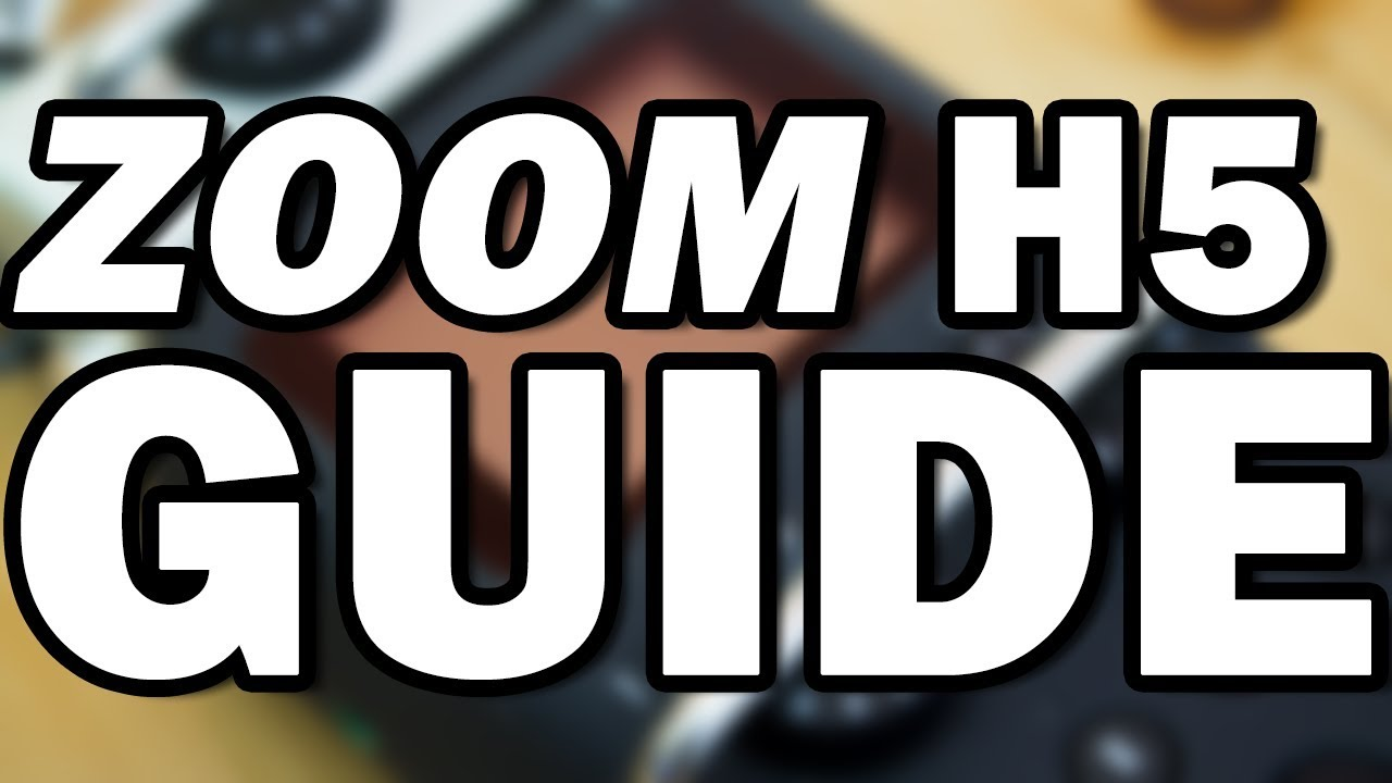 Zoom H5 Portable Audio Recorder Review and Guide