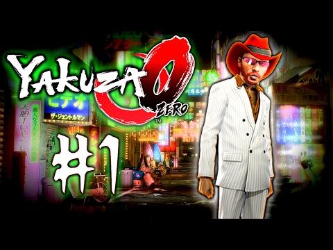 Let's Play Yakuza 0 - Ep #1 | I'M A KARAOKE BOZO | Yakuza Zero PS4 Gameplay