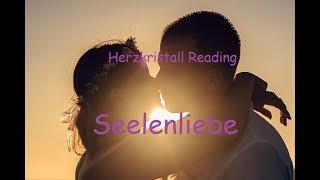 Seelenliebe  Seelenpartner Reading Herzkristall