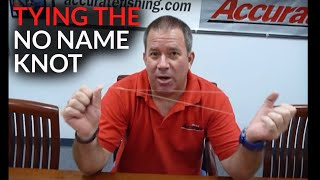 How to tie a no-name knot