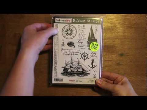 Darkroom Door Rubber Stamps - Overview