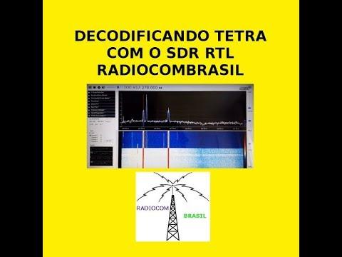 Repeat RTL SDR DECODIFICANDO TETRA RADIOCOMBRASIL DECODING TETRA