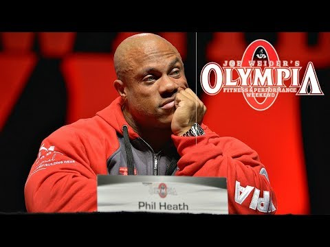 Press Conference Mr. Olympia 2017 [HD]