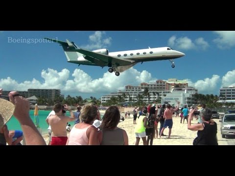Private Jets & Props @ St  Maarten - SXM
