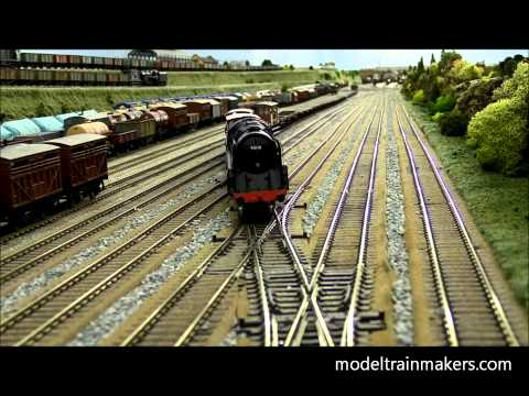 How To North East model railway model trains   ★ www.ModelTrainMakers.com ★