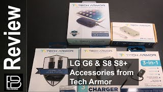 LG G6 & Samsung S8 & S8+ Accessories from Tech Armor