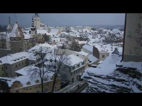 Old Tallinn in Winter Time 1/3