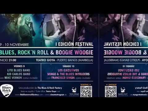 Resultado de imagen de FESTIVAL DE BLUES, ROCK´N ROLL & BOOGIE WOOGIE marbella