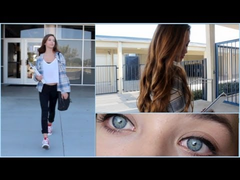 Back to School: Hair, Makeup & Outfit! + GIVEAWAY