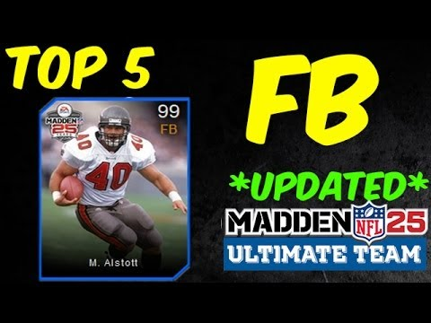 *UPDATED* MUT 25 - Top 5 FB - Madden 25 Ultimate Team