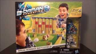B-DAMAN CROSSFIRE Break Bomber Battlefield (Hasbro) ~Unboxing~Review~Test~