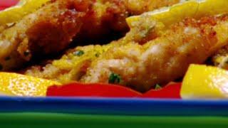 اسكالوب الدجاج مع صلصة مايونييز الليمون - ايمان عماري