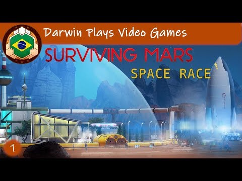 Let's Play - Surviving Mars Space Race #1 TO MARS! |