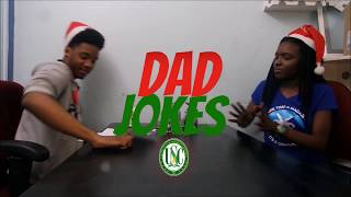 Holiday Dad Jokes Challenge ft. THE CHANNEL & ASB