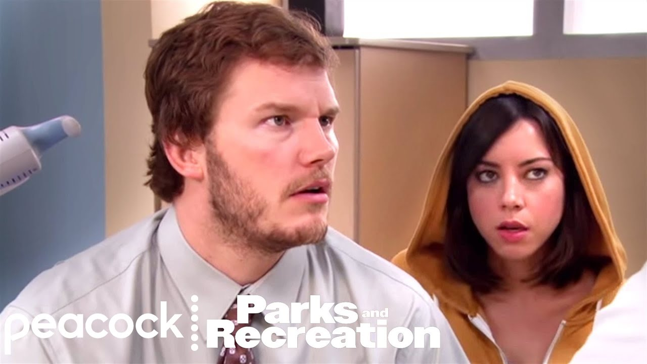 Download Andy & April Visit The Hospital - Parks and Recreation