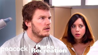 Andy & April Visit The Hospital - Parks and Recreation
