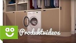 Waschmaschinen mit einer Schleudergeschwindigkeit von 1600 Umdrehungen pro Minute bei ao.de