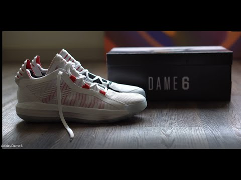 Adidas Dame 6 shoes with the sony a6400