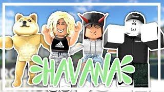 HAVANA ROBLOX MUSIC VIDEO!! || Robloxian high school