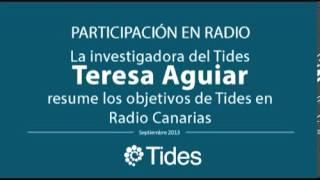 Radio Canarias entrevista al Instituto Tides Por el Día Mundial del Turismo
