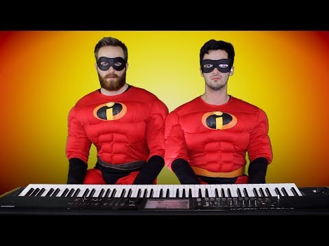 THE INCREDIBLES: The Glory Days/Life's Incredible Again | Frank & Zach Piano Duets
