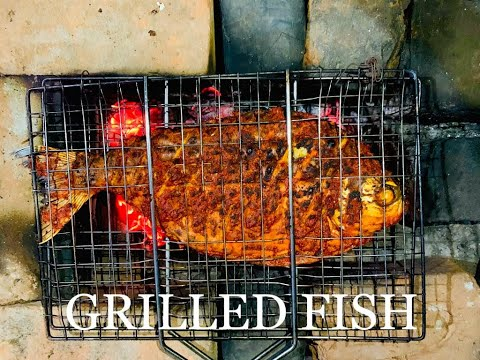 GRILLED FISH || HOW TO MAKE GRILLED FISH || PERFECT GRILLED FISH RECIPE IN MALAYALAM