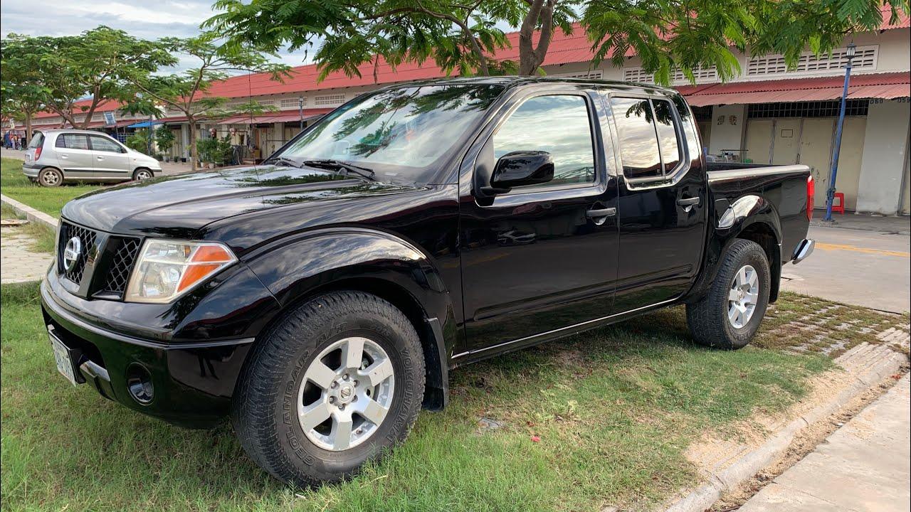 $12,700 Nissan Frontier 05 ប៉ុង2កាពីតាស់/សំនុំសុីនម្ចាស់ដេីម/tel 070969098/095944436/0972822001
