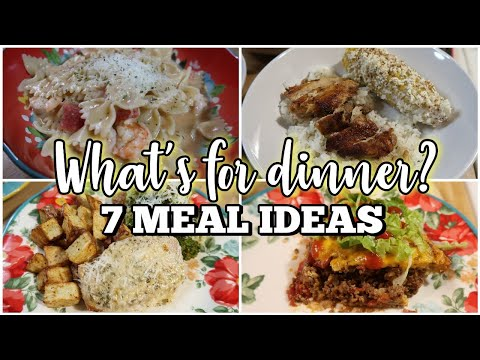 WHAT'S FOR DINNER? | 1-Week Of Easy Family Meal Ideas