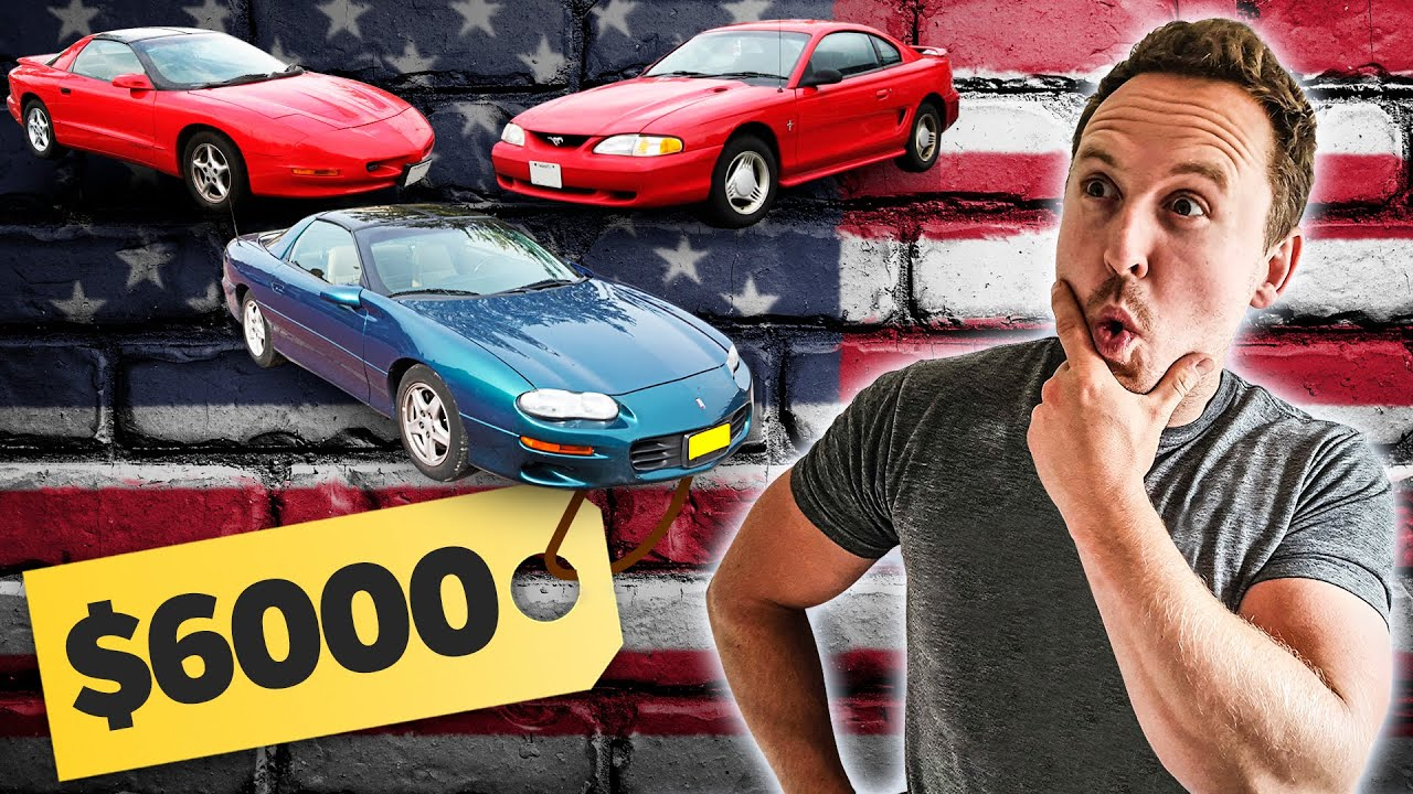 £5000 American Muscle Car Challenge