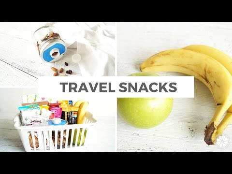 Healthy Travel Snacks For Kids (Adults Will Love Too!) | Healthy Grocery Girl