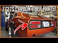 Z gets Carbon Fiber Booty   Datsun 280z Build Series #24