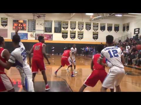 Detroit Edison vs. Detroit Cornerstone - 2017 Boys Basketball Playoff Highlights on STATE CHAMPS!