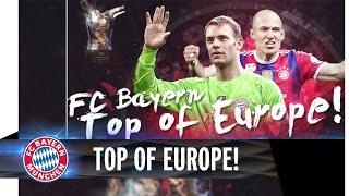 Neuer and Robben on three-man UEFA shortlist