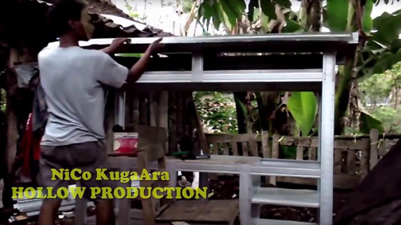 Part 3 Cara Membuat Gerobak Galvalum Baja Ringan Canal C Youtube